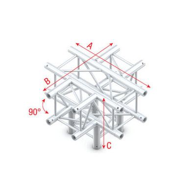 Cross + Down 5-way Pro-30 Square P,F,G Truss