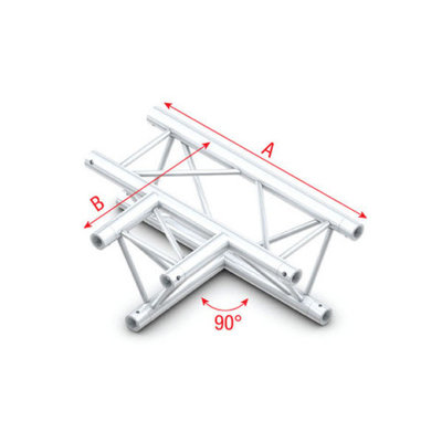 90° 3-way horizontal Pro-30 Triangle P,F,G Truss