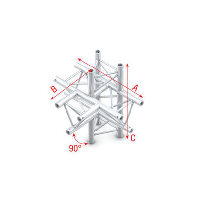 T-Cross + up/down 5-way Pro-30 Triangle P,F,G Truss