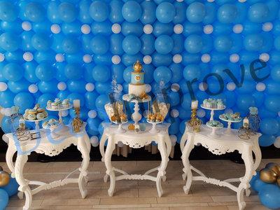 Baby Blauw Ballonnenwand
