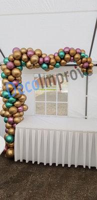 Organic Chrome Driekwart Ballonnenboog