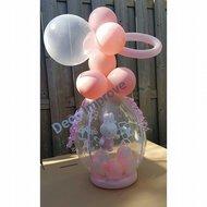 Roze Meisje Nijntje Cadeauballon Stuffer Ballon