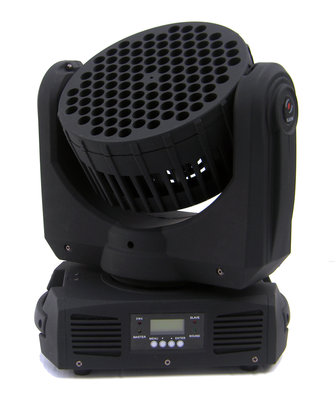 Moving Head LED spot/wash 108x3Watt RGBW Verhuur