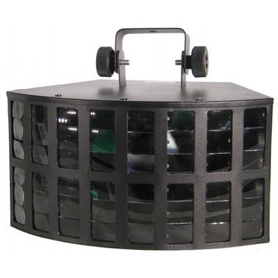 Double Derby 2x10W RGBW LED Lichteffect Straler Verhuur