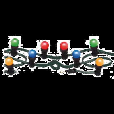 LED Prikkabel 10M met 4  kleuren LED lampen Rood Groen Blauw Geel Verhuur
