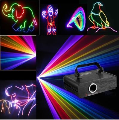 Full Color RGB Animatie Laser Verhuur