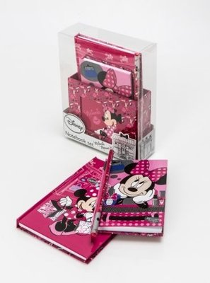 Minnie Mouse Notitieboek Setje