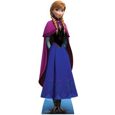 Frozen Anna Kartonnen Vorm