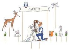 Marry Me Taartprikkers 10st