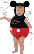 Disney Mickey Mouse Romper Baby Kostuum