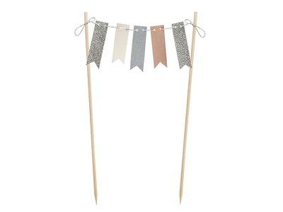 Elegante Vlaggenlijn Taartprikker