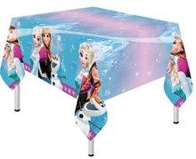 Frozen Noorderlicht Plastic Tafelkleed 120cm x 180cm
