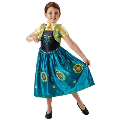 Frozen Fever Prinses Anna Kostuum Kind 5-6jaar