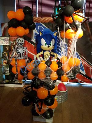 Halloween Spinnen Foto Frame Ballondecoratie 100x100cm
