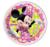 Minnie Mouse Papieren Borden 8st