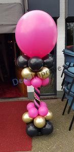 Hotpink Luxe Ballonnenpilaar