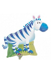 Jungle Zebra SuperVorm Folie Ballon 76cm
