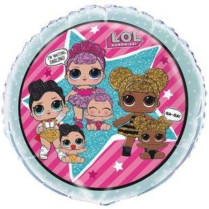 LOL Surprise Mint Folie Ballon 45cm
