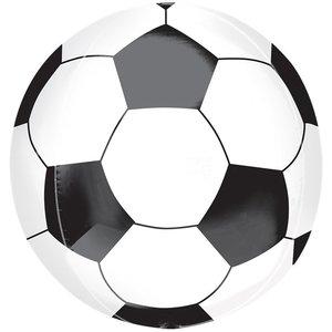 Voetbal Orbz Folie Ballon 40cm