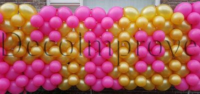 Persoonlijke tekst Ballonnenwand