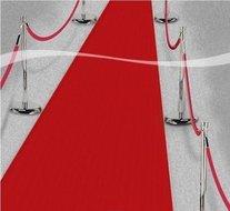 Rode Loper Klassiek 450cm Wegwerp