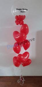 Lovely Hearts Helium Ballonnenboeket