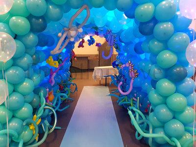 Onderwater Tunnel Diepzee Ballondecoratie