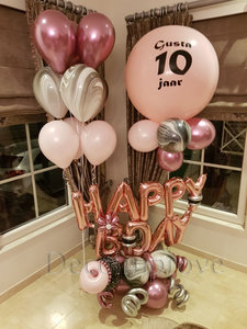 Sweet Happy Birthday Luxe Ballondecoratie