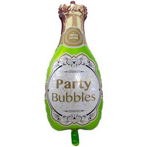 Champagnefles 'Party Bubbles' Folie Ballon 92cm