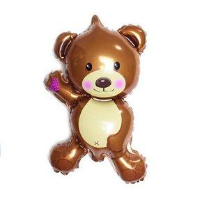 Bruin Teddybeer Folie Ballon 35cm