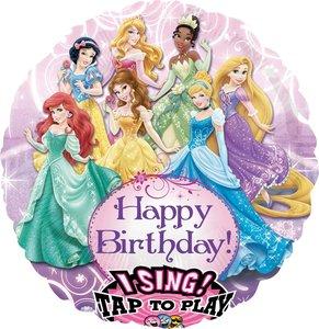 Disney Prinsessen Sing-A-Tune Folie Ballon 71cm