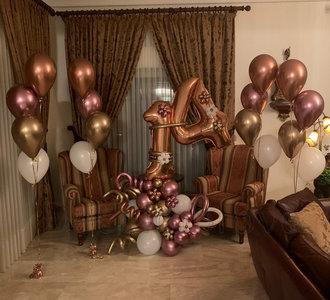 Rosegold AgingLove 14 Jaar Ballonnenpilaar