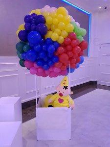 Kleurrijk Organic Luchtballon Fotoscene