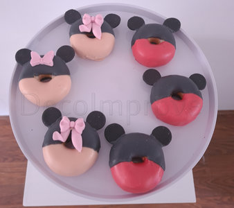 Donuts Mickey en Minnie Mouse Basic