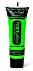 Groen Neon Glow-in-the-Dark Bodypaint 10ml