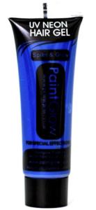 Blauw Neon UV Haargel 10ml