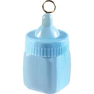 Blauw Baby Fles Ballongewicht
