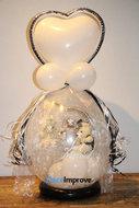 Bruiloft Echtpaar Teddyberen Knuffel Cadeauballon Stuffer Ballon