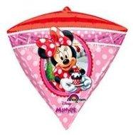 Minnie Mouse Diamondz Folie Ballon 38cm
