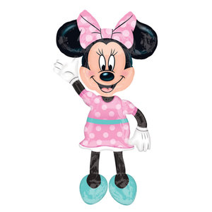 Minnie Mouse Bow Tique Airwalker Ballon
