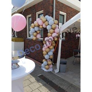 Soft Pastel Vraagteken Ballonnenpilaar