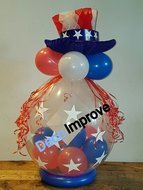 Amerika-Stijl-Cadeauballon-Stuffer-Ballon