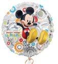 Ballonnenpost-Mickey-Mouse-Clubhuis-Transparante-Metallic-Folie-Ballon-45cm