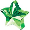 Groen-Ster-Ballongewichtje