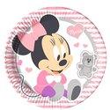 Baby-Minnie-Papieren-Borden-8st
