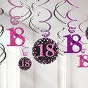 Sprankelende-Roze-18e-Verjaardag-Hangkrullen-12st