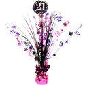 Sprankelend-Roze-21e-Verjaardag-Tafeldecoratie-46cm