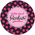 Fabulous-Roze-Polkadot-Papieren-Borden-8st