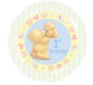 ForeverFriends-jongen-1e-verjaardag-Folie-Ballon-45cm