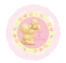 ForeverFriends-meisje-1e-verjaardag-Folie-Ballon-45cm